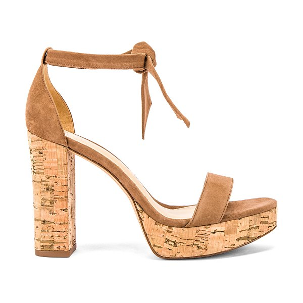 Alexandre Birman celine sandal in cobble & natural