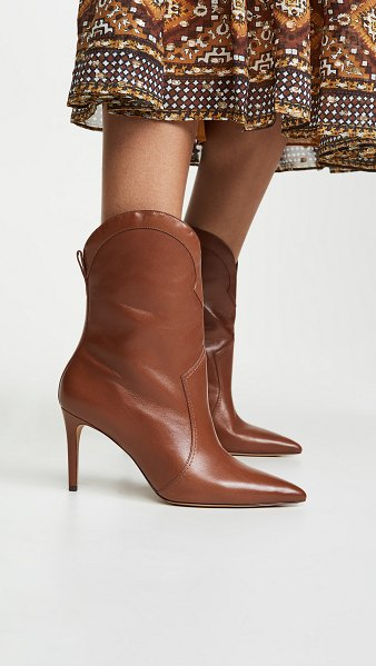 Alexandre Birman esther 85mm boots in cognac