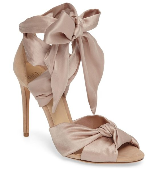 Alexandre Birman katherine lace-up sandal in blush - Take your sandal collection to the next level this...