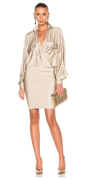 ALEXANDRE VAUTHIER Dress - 100% viscose. Made in France. Dry clean only. Partially...