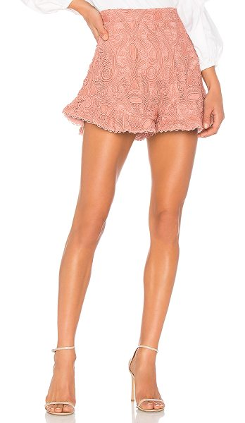 "Alexis Barron Short in pink - ""Be ever the blushing beauty in the Barron Shorts by..."