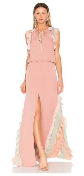 Alexis Battista Gown in pink - Fall in love at first blush. The Alexis Battista Gown...