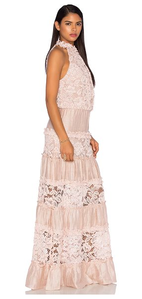 Alexis Benette Long Dress in pink