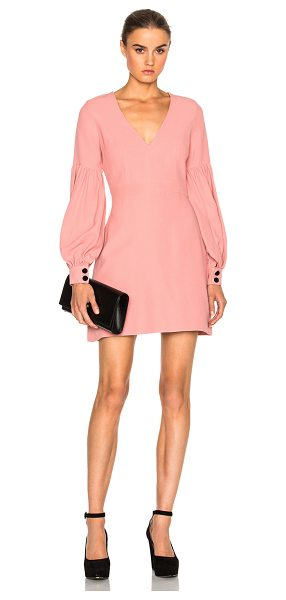 Alexis Ellena Dress in ash pink - Self: 52% viscose 48% acetateLining: 100% poly. Made in...