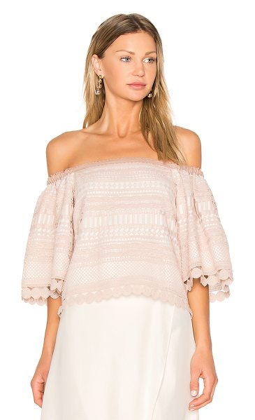 Alexis Finn Top in beige - Flirtatious and of-the-moment, Alexis' Finn Top is all...