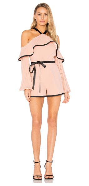 "Alexis Hanson Romper in pink - ""Alexis hits refresh on romantic dressing with the..."