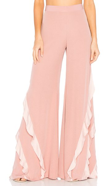 "Alexis Julless Pant in pink - ""Feminine frills define the heart of Alexis' Julless..."