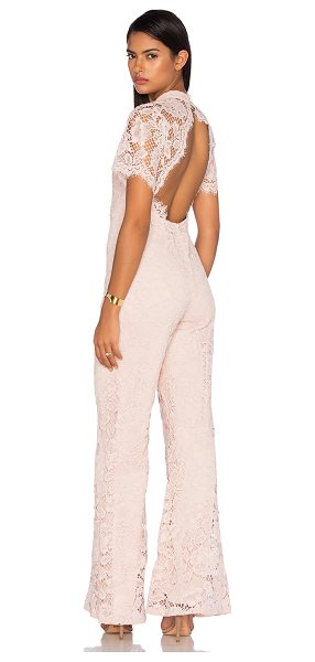 Alexis Kelie Jumpsuit in pink - Self: 55.4% cotton 23% nylon 21.6% rayonLining: 95% poly...