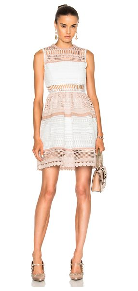 ALEXIS Melania Dress - Self: 100% poly - Lining: 96% poly 4% spandex.  Made in...
