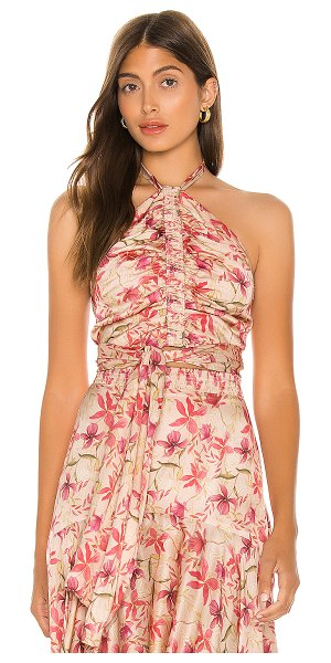 Alexis reve top in wild orchid rose