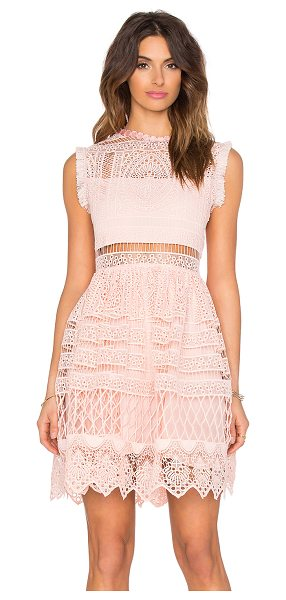 Alexis Sage fit & flare dress in pink - Shell & Lining: 100% poly. Dry clean only. Partially...