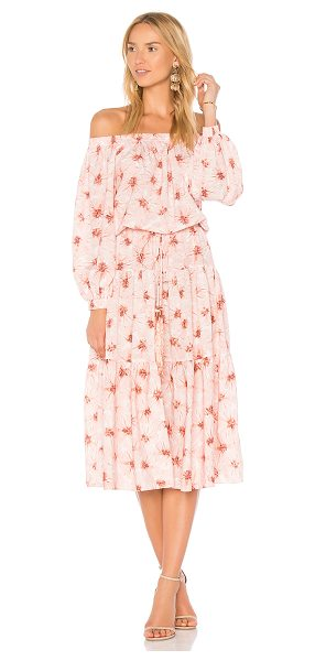 "Alexis Tilia Dress in pink - ""Answer your wanderlusting dreams with the Alexis Tilia..."