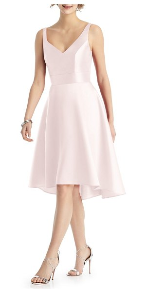 Alfred Sung sweetheart neck cocktail dress in pink