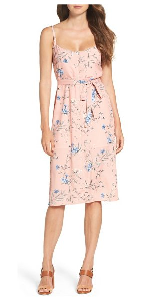 Ali & Jay flower frolicking midi dress in desert sunset floral - Turn up the charm in this floral slipdress that enhances...