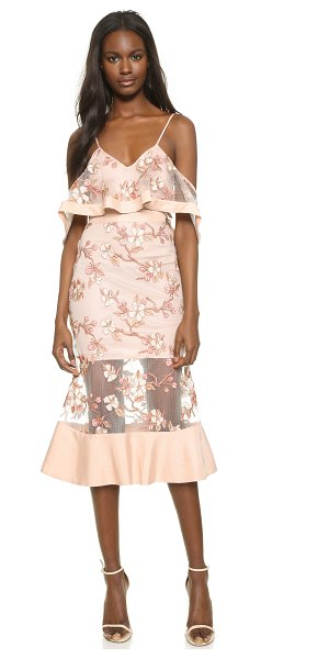 Alice McCall Crystalised dress in blush blossom - Description NOTE: Sizes listed are Australian. Please...