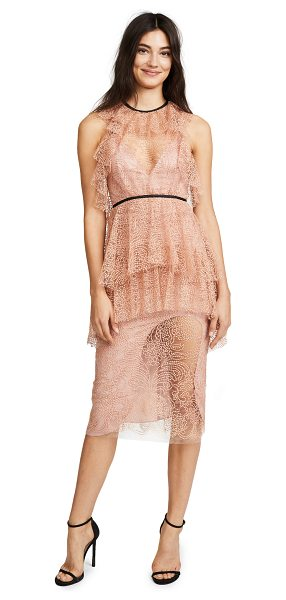 Alice McCall ocean drive dress in amber - This Alice McCall romper is composed of gossamer-like...