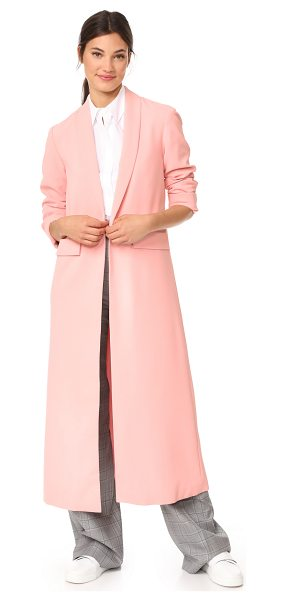 ALICE + OLIVIA angela long coat - A long alice + olivia overcoat with a pastel hue. Back...
