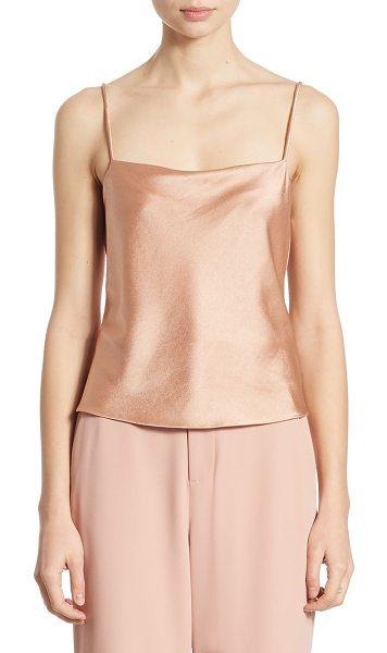 ALICE + OLIVIA harmon satin camisole - Slinky camisole cast in soft, lustrous satin....