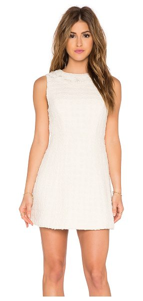 Alice + Olivia Haven seamed structure dress in cream - Shell: 100% cottonCombo: 100% viscoseLining: 95% poly 5%...
