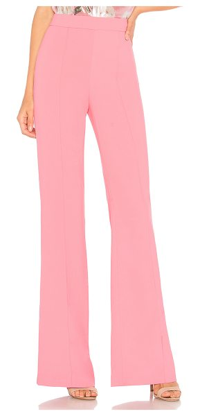 "Alice + Olivia Jalisa Pant in pink - ""Self: 100% polyLining: 94% poly 6% elastane. Dry clean..."