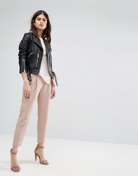 "ALLSAINTS Aleida Pant in pink - """"Pants by AllSaints, Smooth woven fabric, Mid-rise..."