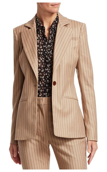 Altuzarra acacia jacket in light camel - From the Saks IT LIST SUIT YOURSELF The new suit: equal...
