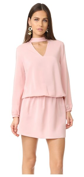 Amanda Uprichard amaretto dress in dusty rose - NOTE: Runs true to size. Covered elastic at the waist...