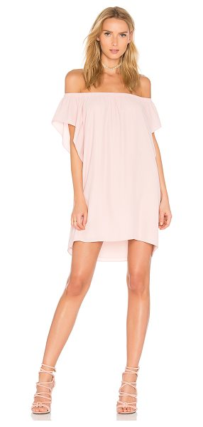 "Amanda Uprichard Castaway Dress in rose - ""Silk blend. Dry clean only. Fully lined. Elastic..."