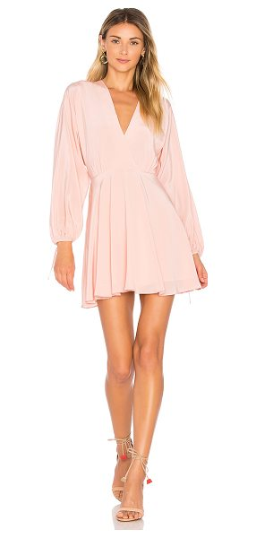 Amanda Uprichard Crystal Dress in pink - Poly blend. Dry clean only. Fully lined. Hidden back...