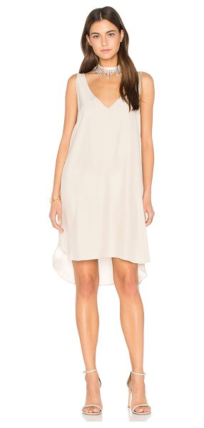 Amanda Uprichard Downtown Dress in desert - Silk blend. Dry clean only. Unlined. AMAN-WD685. WS...