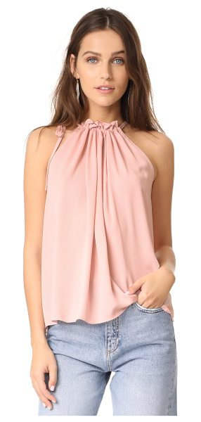 Amanda Uprichard emlyn top in dusty rose - This graceful Amanda Uprichard tank is styled with a...