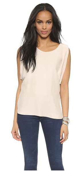 AMANDA UPRICHARD Florence top in bone - An elegant Amanda Uprichard blouse made from luxe silk...