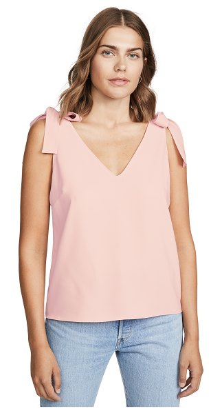 Amanda Uprichard josephina top in dusty rose