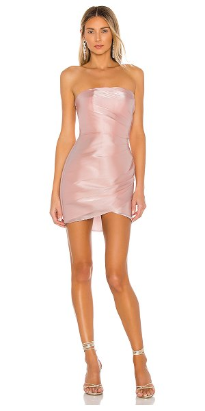 Amanda Uprichard maiya dress in pink
