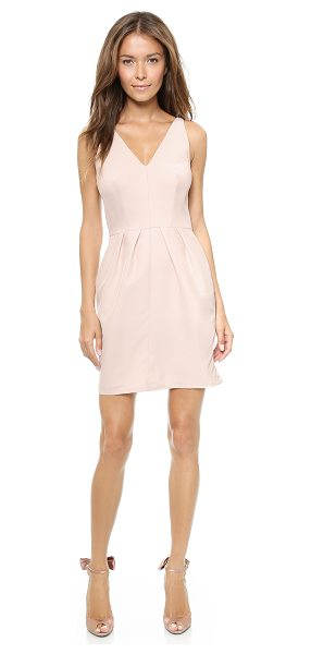 AMANDA UPRICHARD Pyramid dress - Pleats add flattering volume to a structured silk Amanda...