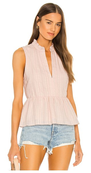 Amanda Uprichard saffron top in blush