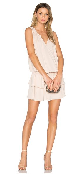 Amanda Uprichard Saranac Dress in beige - Self & Lining: 100% poly. Dry clean only. Fully lined....