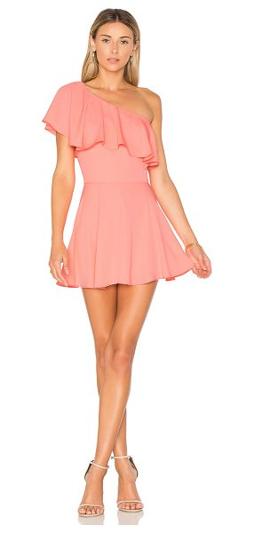 Amanda Uprichard Sedona Dress in pink - Self & Lining: 100% poly. Dry clean only. Fully lined....