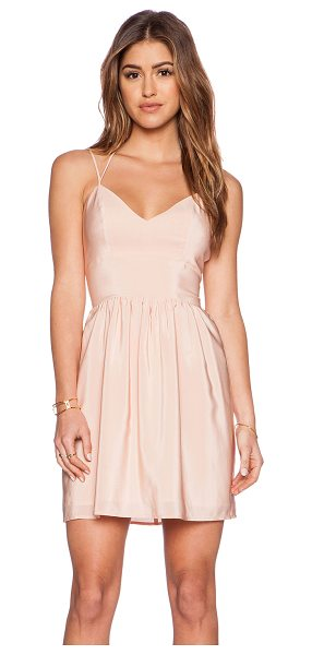 Amanda Uprichard Whenever dress in peach - Shell: 100% silkLining: 100% poly. Dry clean only....