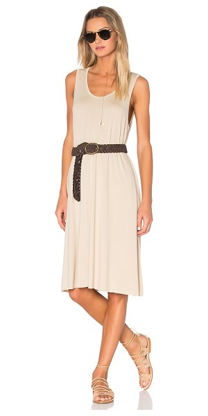 American Vintage Wocstate Tank Dress in beige