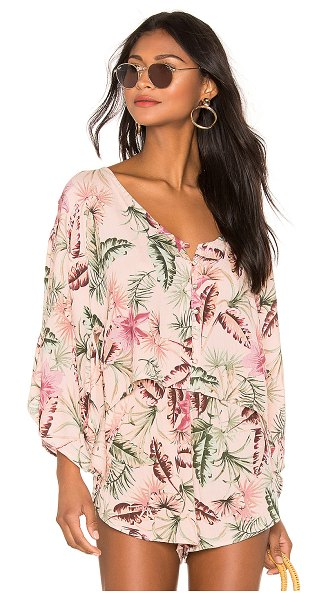 AMUSE SOCIETY brisa top in light pink