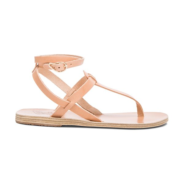 ANCIENT GREEK SANDALS Estia Leather Sandals - Genuine leather upper and sole.  Made in Greece. ...