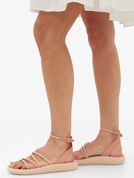 Ancient Greek Sandals euphemia comfort leather sandals in light pink