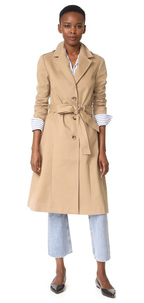 Anine Bing classic trench coat in beige - An ANINE BING trench coat with a classic, utilitarian...