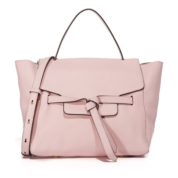 Annabel Ingall annie satchel in rose - A slouchy Annabel Ingall tote in pebbled leather. Slim...