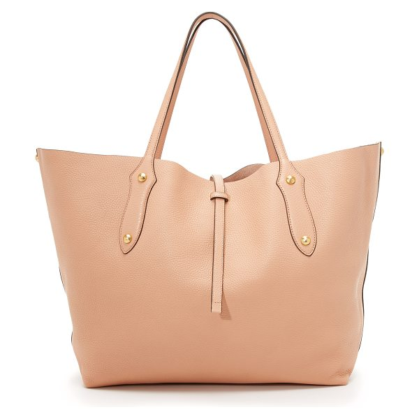 Annabel Ingall Isabella large tote in almond - A slouchy Annabel Ingall tote bag styled in wrinkled...