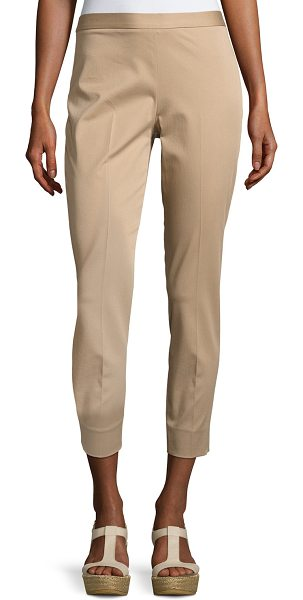 "Antonelli Sestriere Tapered Wide-Cuff Pants in beige - """"Sestriere"" stretch-cotton gabardine pants by..."