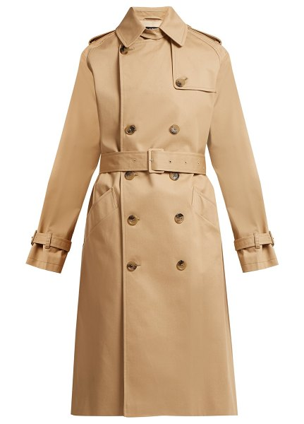 A.P.C. A.p.c. - Greta Cotton Twill Trench Coat in beige - A.P.C. - Perfect effortless Parisian polish with...