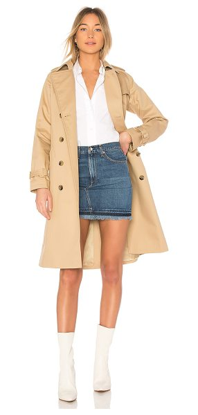 A.P.C. Greta Trench in tan - Defying trends, A.P.C defines classic, timeless style...