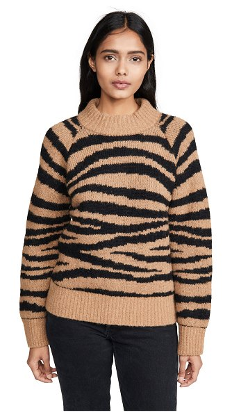 A.P.C. jemima wool pullover in camel